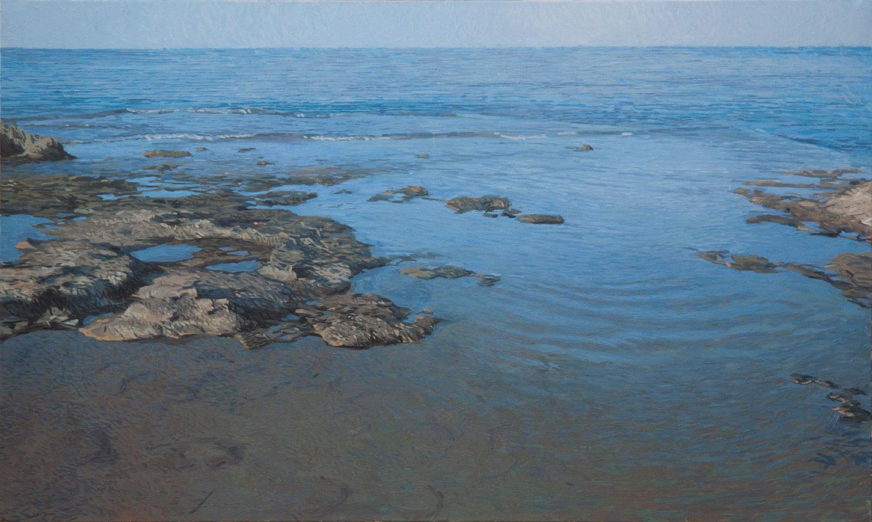 Cabo de Gata 02 Almería Contemporary Seascapes Painting 162 x 97 cm