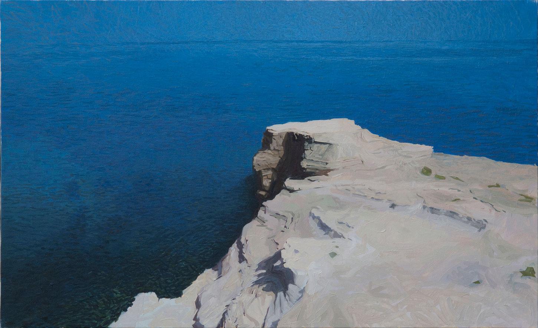 Cabo de Gata 03 Almería Contemporary Seascapes Painting 146 x 89 cm