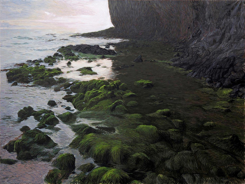 Contemporary-Seascape-Painting-Cabo-de-Gata-06-200x150-cm